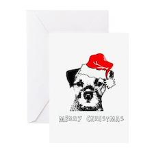 Border Terrier Christmas Cards (Pk of 10)