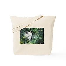 """Hidden In The Vegetation"" Tote Bag"