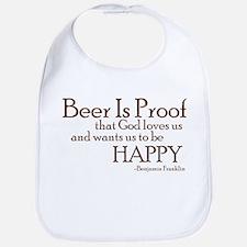 Beer Is Proof Bib