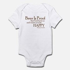 Beer Is Proof Infant Bodysuit