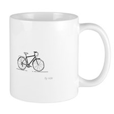 classic bicycle: fly ride Mug