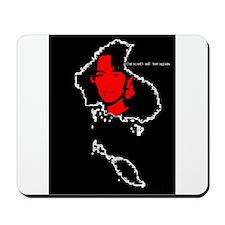 Aung San Suu Kyi Mousepad