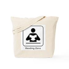 Reading Zone Tote Bag