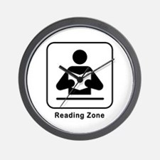Reading Zone Wall Clock