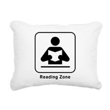 Reading Zone Rectangular Canvas Pillow