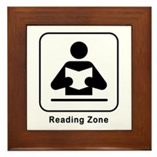 Reading Zone Framed Tile