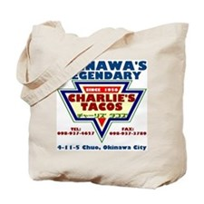 Charlie's Tacos Tote Bag