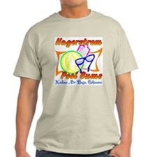 Hagerstrom Pool Bums Ash Grey T-Shirt