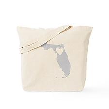 Heart Florida Tote Bag