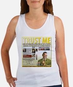 Obama Says Trust Me As Scandals Mount Up Tank Top