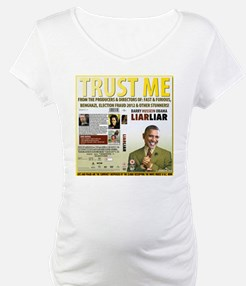 Obama Says Trust Me As Scandals Mount Up Shirt