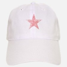 Faded Red Star Baseball Cap
