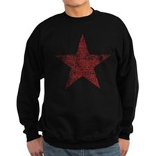 Faded Red Star Jumper Sweater