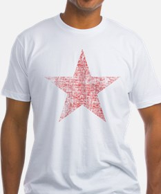 Faded Red Star T-Shirt