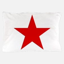 Red Star Pillow Case