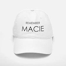 Remember Macie Baseball Baseball Cap