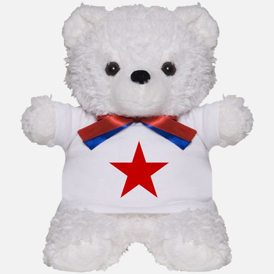 Red Star Teddy Bear