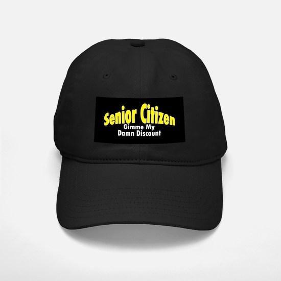 Senior Citizen Discount Baseball Hat