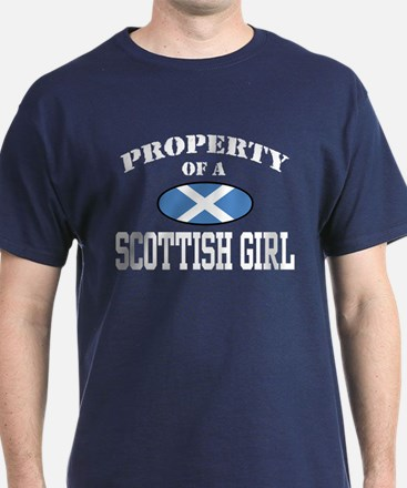 Property of a Scottish Girl T-Shirt