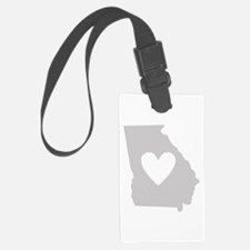 Heart Georgia Luggage Tag