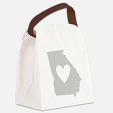 Heart Georgia Canvas Lunch Bag