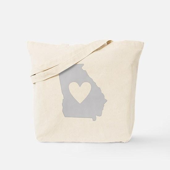 Heart Georgia Tote Bag