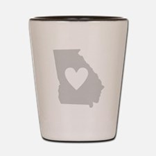 Heart Georgia Shot Glass