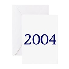 2004 Greeting Cards (Pk of 10)