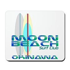 Moon Beach Surf Club Mousepad
