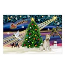 Xmas Magic & Wire Fox T3 Postcards (Package of 8)