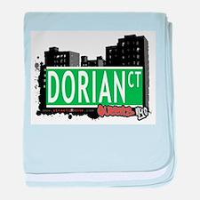 DORIAN COURT, QUEENS, NYC baby blanket