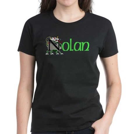 Nolan Celtic Dragon Women's Dark T-Shirt