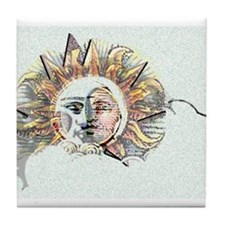 Spirit in the Light Tile Coaster