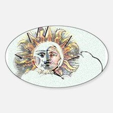 Spirit in the Light Oval Decal