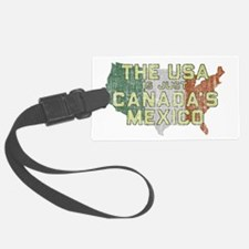 Canadas Mexico Luggage Tag