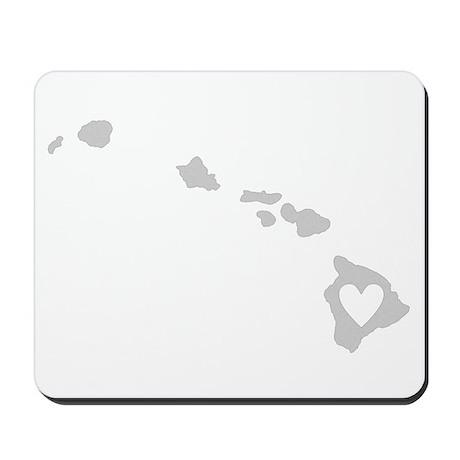 Heart Hawaii Mousepad