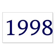 1998 Rectangle Decal