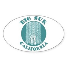 Big Sur Oval Decal