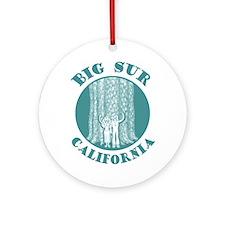 Big Sur Ornament (Round)