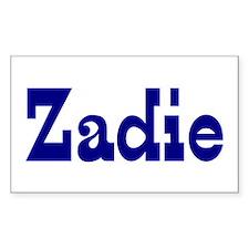 Zadie Vinyl Decal
