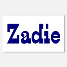 Zadie Vinyl Decal