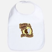 Beans and Rice Bib