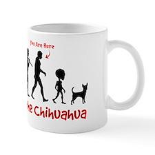 Evolution of the Chihuahua - Coffee Mug