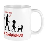 Evolution of the Chihuahua - Coffee Mug
