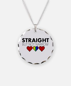 STRAIGHT but not narrow Necklace