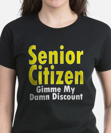 Senior Citizen Discount Tee