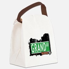 GRAND AVENUE, QUEENS, NYC Canvas Lunch Bag