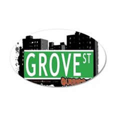 GROVE STREET, QUEENS, NYC Wall Decal