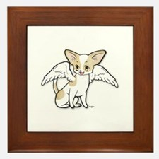Norman Chihuahua Angel Framed Tile