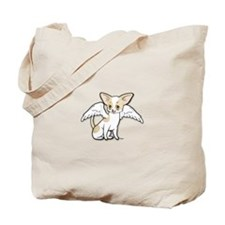 Norman Chihuahua Angel Tote Bag
